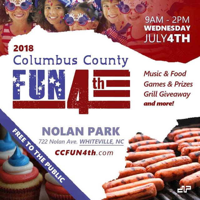 Whiteville to host first Columbus County Fun 4th   Bladen